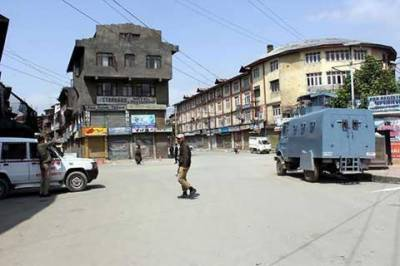 Shutdown in Pampore, Budgam against killing of youth