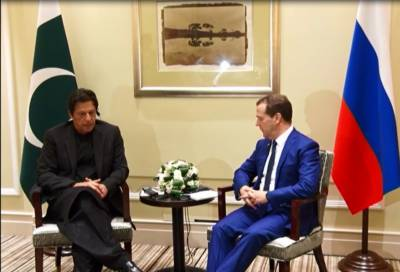 Imran Khan holds meeting with Russian PM in Shanghai