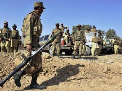 One solider martyred, another injured in IED blast