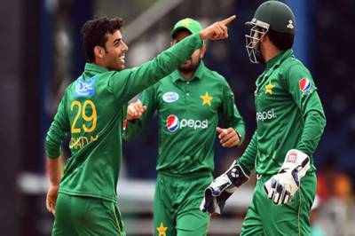 Pakistan's Shadab Khan makes history