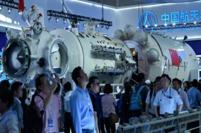 China unveils heavenly palace space station as US led ISS set to retire