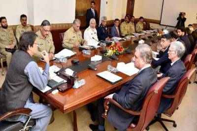 National Security Committee meeting held with PM Imran Khan in chair
