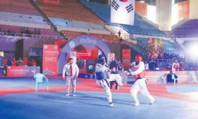 Pak Army seals first position in Senior Poomsae competitions
