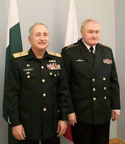 Pakistan Russian Navies inch closer further at international front