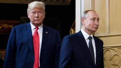 Trump says will not meet Putin in Paris, despite Moscow claim