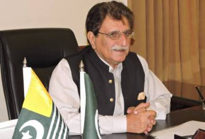 AJK PM continues activities in connection with Kashmir EU Week in Brussels