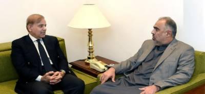 Shehbaz Sharif appreciates NA speaker's role