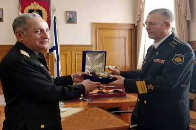 Pakistan Navy Chief visits Baltic Fleet Headquarters in Russia