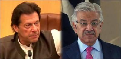 PM Imran Khan rejects proposal to give key slot to Khawaja Asif