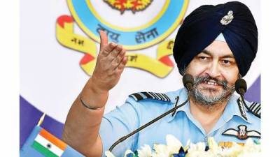 Indian Air Force Chief doesn't rule out cross border strike in Kashmir