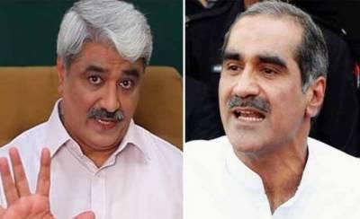 Khawaja Saad Rafique blames DG NAB Lahore