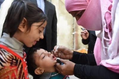 National Polio eradication campaign kicks off across Pakistan, Over 2 crore children targeted