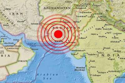 Earthquake jolts parts of Pakistan on Monday