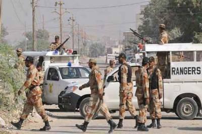 Sindh Rangers arrest 19 criminals from Karachi