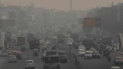 Delhi 'lungs' turn sickly brown in days