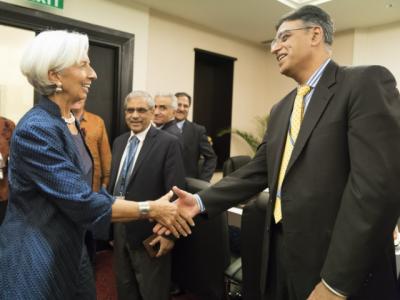 IMF delegation meets Asad Umar