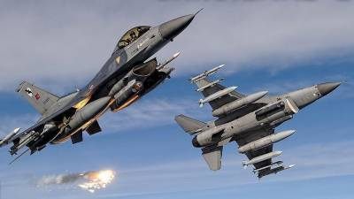 Turkish jets neutralize 19 terrorists in N. Iraq