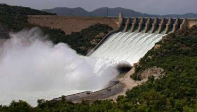 Water level of Tarbaila Dam decreases