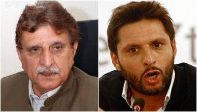 AJK Premier lashes out at Shahid Khan Afridi over controversial Kashmir remarks