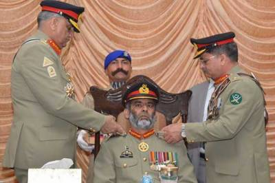COAS General Bajwa visits Army Services Corps Centre, installs new Colonel Commandant ASC