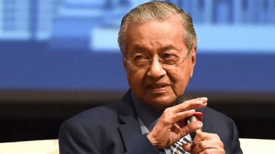 Malaysian PM Mahathir Mohammad conveys stern message to US