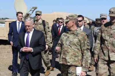 Mattis visits troops on US border, says mission 'necessary'