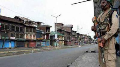 Complete shutdown in occupied Kashmir