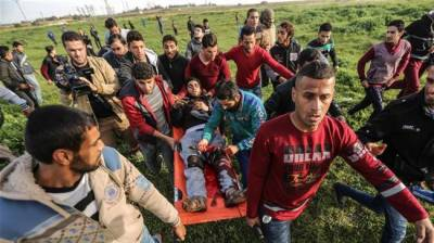 Israeli forces attack on Palestinian farmers in southern Gaza