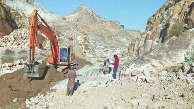 Mohmand: Construction work of small dam in full swing