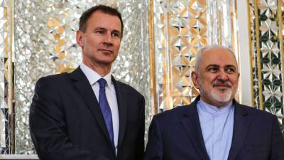 British foreign minister visits Iran for nuclear talks