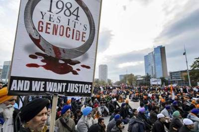 First death sentence in India over anti Sikh riots of 1984