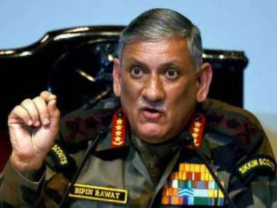 Indian Army Chief General Bipin Rawat accused of spreading terrorism in India