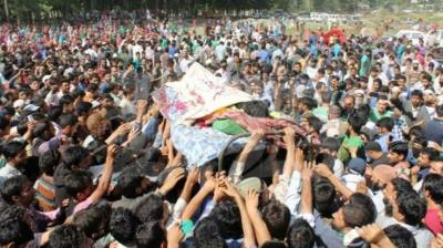 Indian troops martyr 5 Kashmiri's in their fresh act of state terrorism