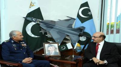 President AJK lauds PAF for its spectacular performance in professional fields