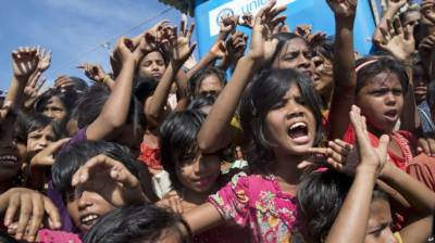UN concerned over shootings by Myanmar police at camp for Rohingya refugees