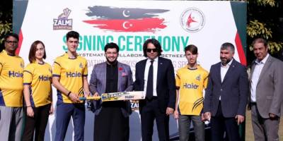 Zalmi and Turkey Sports Developing organization signs MoU