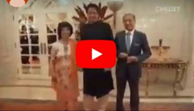 In a surprise, Malaysia's first lady expressed desire to hold hand of Pakistani PM Imran Khan (VIDEO)