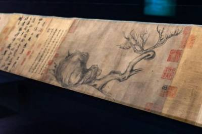 1000 year old Chinese painting auctioned for unbelievable price