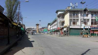 Complete shutdown in entire Occupied Kashmir against barbarian killings of 18 youth