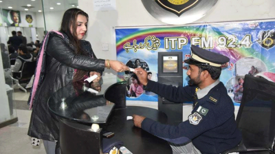 For the first time in history Islamabad Police issued driving licence to transgender person