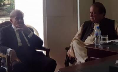 Nawaz Sharif holds important meeting with Shahbaz Sharif