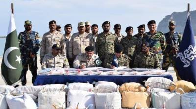 Pakistan Navy seizes narcotics worth millions of dollars
