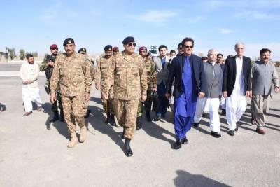 PM Imran Khan visits Miran Shah, Headquarter Of North Waziristan