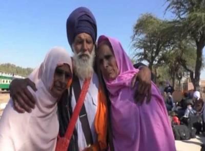 Three Sikh, Muslim siblings reunite in Pakistan after 1947