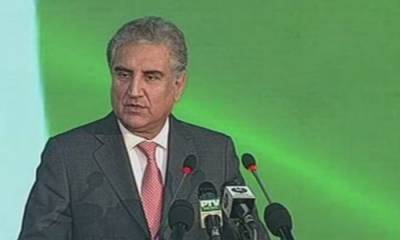 Foreign Minister Shah Mehmood Qureshi had a veiled attack on India