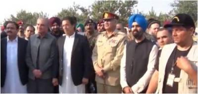 Groundbreaking of Kartarpur Corridor step towards peace:COAS