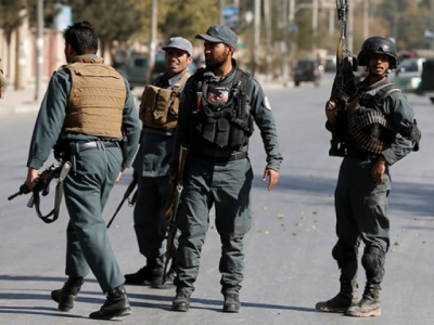 Massive blast outside British security company compound in Kabul