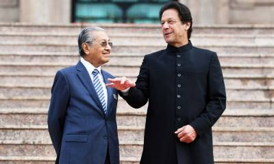Pakistan makes a formal offer to Malaysian PM Mahatir Mohammad