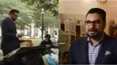 Pakistani American Kazi Manan sets new standards of humanity with his kind act in Washington
