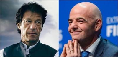 PM Imran Khan makes an offer to FIFA President